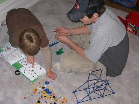 dayton-and-steven-play-with-knex-christmas-2008