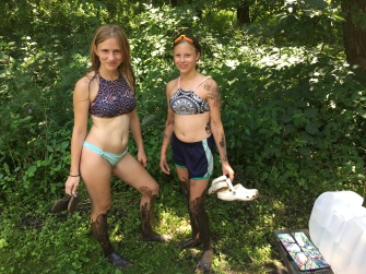 Girls Found Mud :)